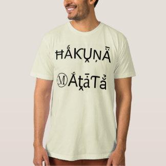 Black Vintage Hakuna Matata Gifts T-shirts