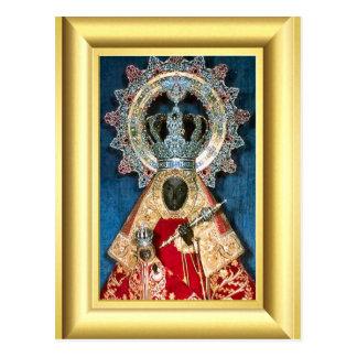 Black virgin Mary Postcard
