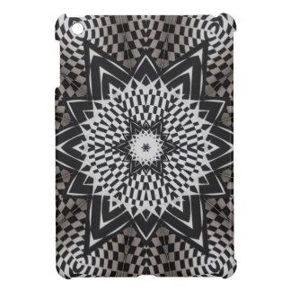 black vs white Mandala iPad Mini Covers
