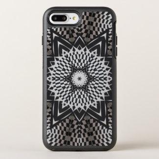 black vs white Mandala OtterBox Symmetry iPhone 7 Plus Case