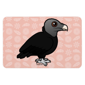 Black Vulture Rectangular Photo Magnet