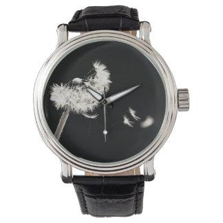 Black watch black and white dandelion