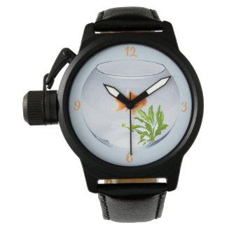 Black watch protect-crown Goldfish