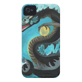Black Water Dragon Case-Mate iPhone 4 Case