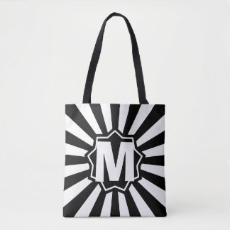 Black Wham Bam Monogram Tote Bag