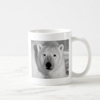 Black & Whit Polar Bear Mug