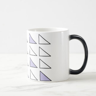 Black/White 11 oz Morphing Mug art by JShao