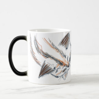 "Black/White 11 oz ""My sleeping dragon"" Magic Mug"