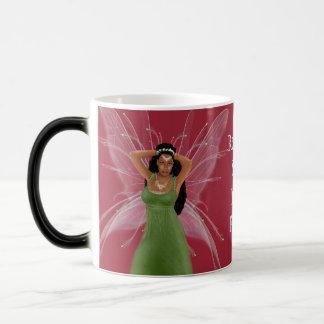 Black/White 11oz-Morphing Release Inner Fairy Mug