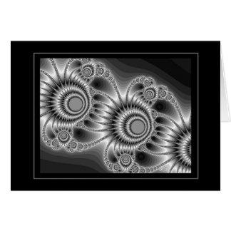 Black & White 6 (Navajo) Card