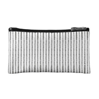 Black & White Abstract Pattern Small Cosmetic  Bag