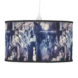 Black& White Abstract Pendant Light Hanging Pendant Lamp