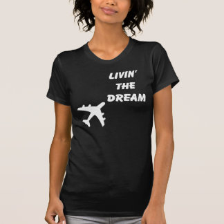 Black & White Airplane T-Shirt