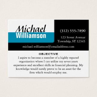 Resume business card pertamini resume business card reheart Gallery
