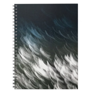 Black, White and Blue Notebook