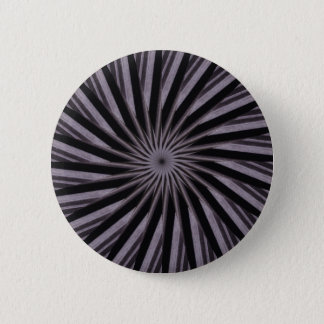 Black white and grey swirly template abstract art 2 inch round button