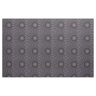 Black white and grey swirly template abstract art fabric