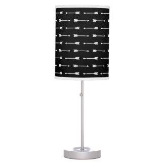 Black & White Arrows Pattern Lamp