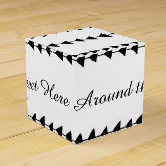 Black White Aztec Arrows Pattern Favor Boxes