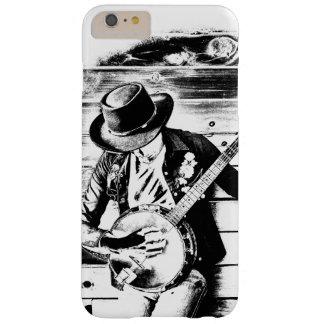 Black & White Banjo Man - Phone Case