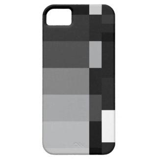 Black & White Bars iPhone 5 Case