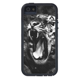 Black & White Beautiful Tiger Head Wildlife iPhone 5 Covers