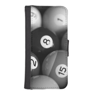 Black White Billiards iPhone Wallet Case Phone Wallet Cases