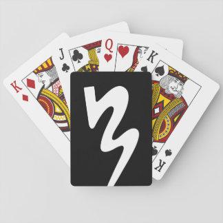 Black & White BMB Logo Playing Cards