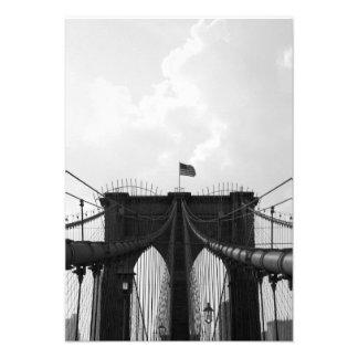 Black & White Bridge Announcements