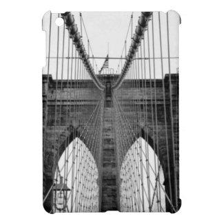 Black White Brooklyn Bridge New York iPad Mini Cover