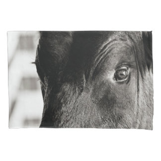Black & White Bulls Eye Pillow Case Pillowcase