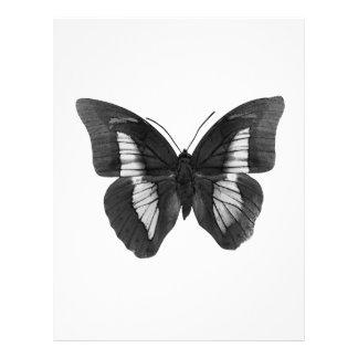 Black & White Butterfly Flyer