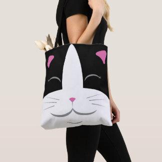 Black & White Cat Tote Bag