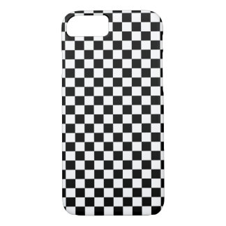 Black White Checker Board iPhone 8/7 Case