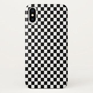 Black & White Checker Case-Mate iPhone Case