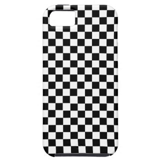 Black White Checkered iPhone 5 Covers