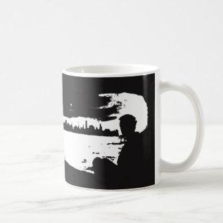 Black & White City Lookout - Coffee Mug