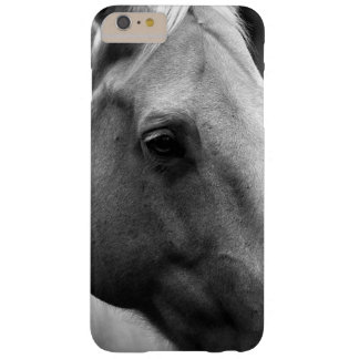 Black White Close-up Horse Eye iPhone 6/6s Case