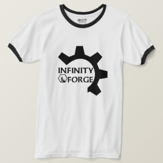 Black & White Cog T T-Shirt