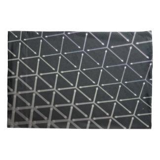 Black & White Cube Pattern Pillowcase