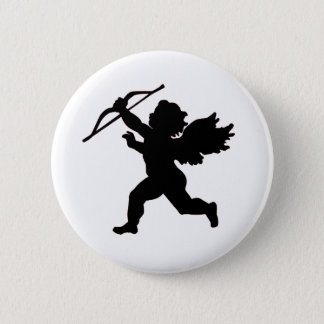 Black & White Cupid Button