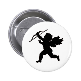 Black & White Cupid Button