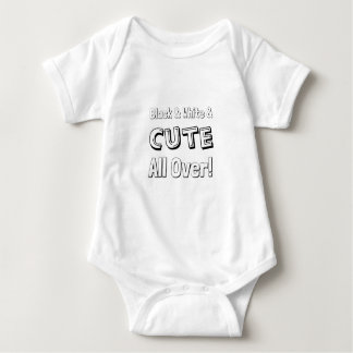 Black, White & Cute All Over!, Biracial Cutie Baby Bodysuit