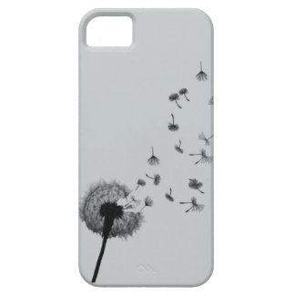 Black & White Dandelion Case For The iPhone 5