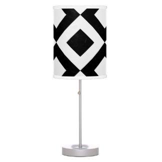 Black&White Diamond Lamp Shade, Table Light