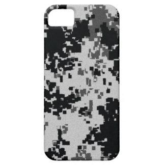 Black & White Digital Camouflage iPhone 5 Case