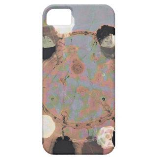 Black white dots grunge style unity digital art iPhone 5 cases