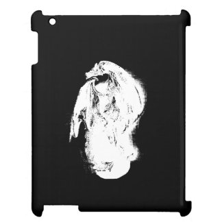 Black & White Dragon iPad Cover