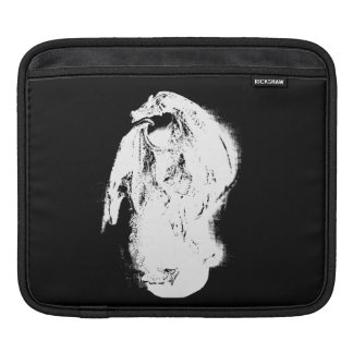 Black & White Dragon iPad Sleeve