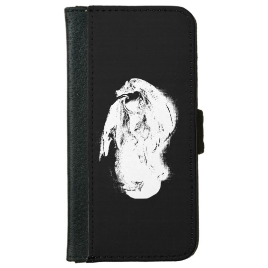 Black & White Dragon iPhone 6 Wallet Case